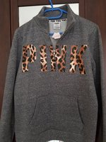Used Victoria secret pink gray sweatshirt in Dubai, UAE
