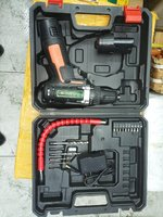 Used cordless drill with two battery  - NEW- in Dubai, UAE