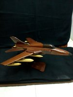 Wooden Fighter Jet - Large