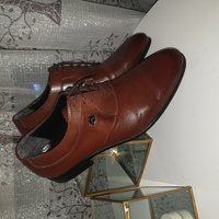 Used Brown Turkish Shoe size:42 in Dubai, UAE