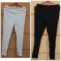 Used 2 pcs pant and capris for her, L in Dubai, UAE