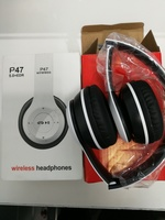 Used New white foldable wireless headphone in Dubai, UAE