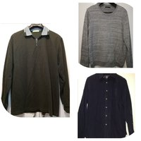 Used 3 men shirts for the price if 1 size XL in Dubai, UAE