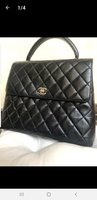 Used AUTHENTIC Chanel Kelly Top Handle Bag in Dubai, UAE