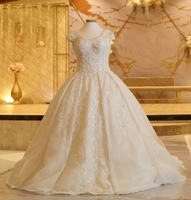 Used Wedding dresse Disney design فستان عروس in Dubai, UAE
