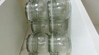 Used 6 glass jars in Dubai, UAE
