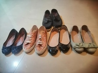 Used Ladies shoes size 38 + 1 man 41 uk in Dubai, UAE