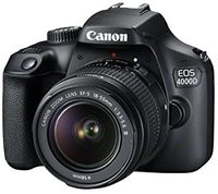 Used Canon EOS 4000D with kit lense and BOx in Dubai, UAE