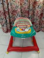Used Hardly used like new baby walker 4 sale in Dubai, UAE