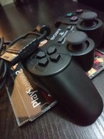 Used PlayStation 2 Dualshock Controller Black in Dubai, UAE