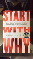 Used Start with why by Simon Sinek  in Dubai, UAE