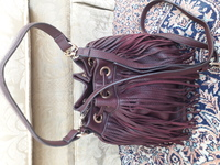 Used Brand new beautiful tassel bucket bag in Dubai, UAE