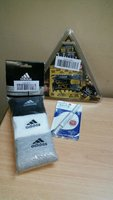 Used Bundle3(Adidas Sock,Wallet Ninja,Whiten) in Dubai, UAE