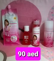 Used BRILLIANT TONER&SUNSCREEN&AHA&ROLL ON in Dubai, UAE