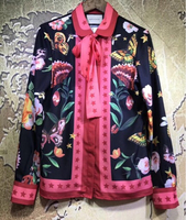 Brand new Gucci pure silk top
