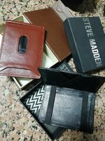Used Steve Madden Mens wallet good leather in Dubai, UAE