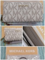 Used Original and brande new MK Vanilla purse in Dubai, UAE