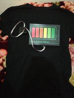 Used lights-activated music flash T. shirt in Dubai, UAE