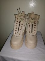 Used INCREASE MARTIN BOOTS BEIGE in Dubai, UAE