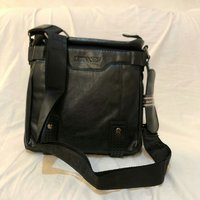 Used Men's Business Leather Messenger Bag in Dubai, UAE