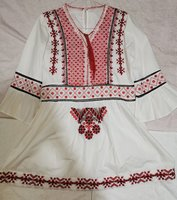 Used White embroidered with red - mini dress in Dubai, UAE