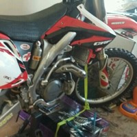 Used 2008 model  CRF 450R  in very good condition  in Dubai, UAE