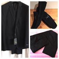 New Black Suit Size 48