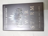 Used War Storm hard cover Victoria Aveyard in Dubai, UAE