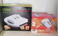 Used Cyber new set of sandwich maker and mixe in Dubai, UAE