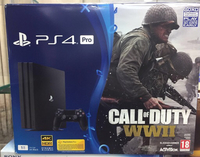 Used PS4 PRO 1TB call of duty WW2 in Dubai, UAE