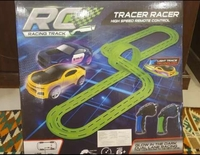 Used Glowing Car track with two cars in Dubai, UAE