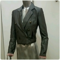 Blazer Long Sleeve Grey Color Small Size