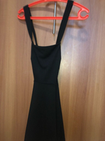 Used Forever 21 black skater style dress in Dubai, UAE
