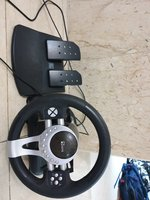 Used XBOX 360 gaming wheel for car games in Dubai, UAE