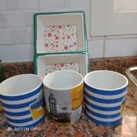 Used 5 aed items 3 cups and tray one glass in Dubai, UAE