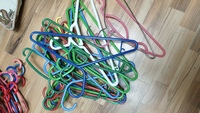 Used 18 pcs cloth hangers in Dubai, UAE