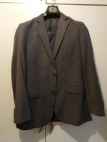 Men's light grey formal suit