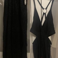 Used Brand New Maxi Dress with cut out detail in Dubai, UAE