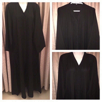 Used Open abaya with shaila size 56 in Dubai, UAE