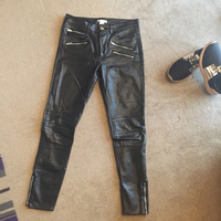 Used H&m biker leather pants in Dubai, UAE