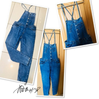 Used Express Jumper jeans size S/M 💙 in Dubai, UAE