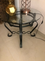 Used Coffee/Center table + 2 side tables in Dubai, UAE