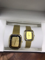 Gucci couple watch with box
