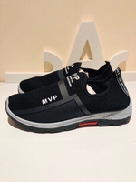 Used Black sneakers size 43  in Dubai, UAE