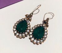 Used 925 silver earrings  in Dubai, UAE
