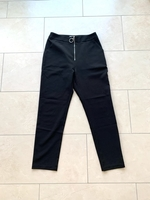 Used GINGER Black Trousers with Zip Size M in Dubai, UAE
