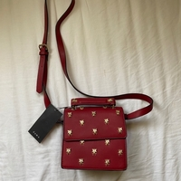 Used Zara dark red bag in Dubai, UAE