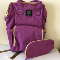Used Super Diaper bag - purple  in Dubai, UAE