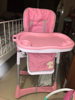 Used Baby high chair (pink) in Dubai, UAE