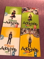Used French a1-a2 adosphere book and cd  in Dubai, UAE